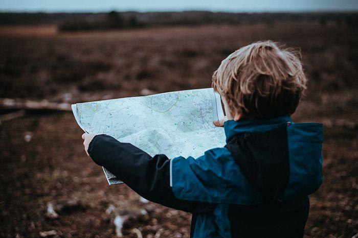 kid map travel