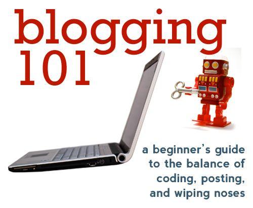 blogging 101 webinar
