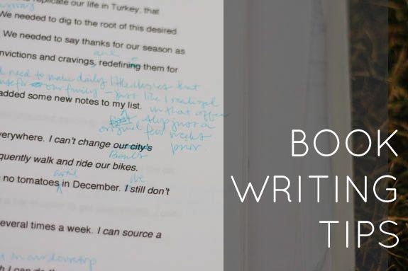 Book writing tips.