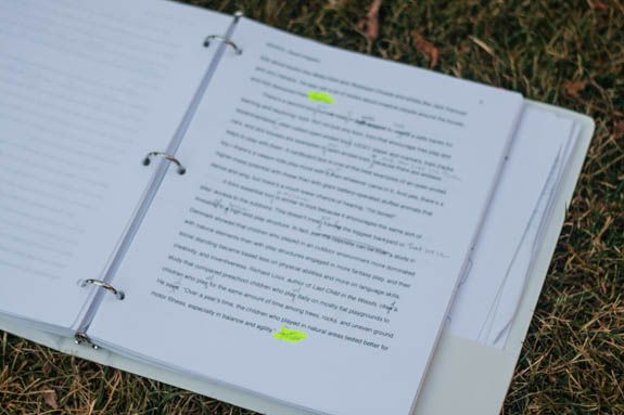 Print a copy of your book and edit the old-fashioned way: with a pen.