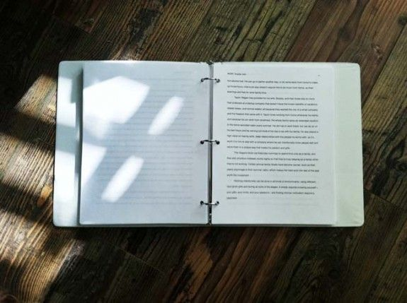 book draft