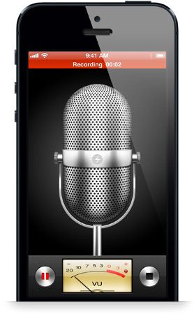 Use the Voice Memos app to capture thoughts during book writing.