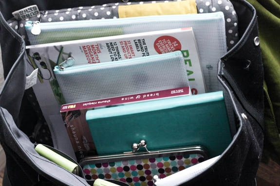 Inside Tsh's bag