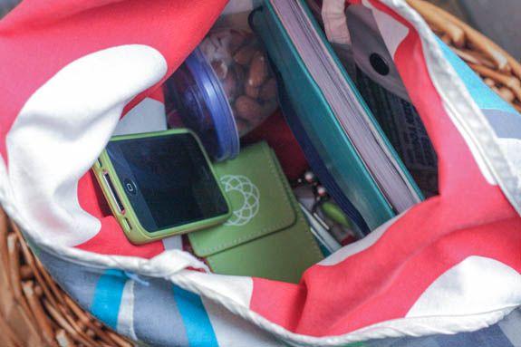 Inside Tsh's everyday bag