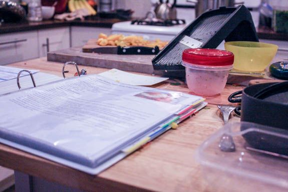Cooking with a menu plan makes life so much saner.