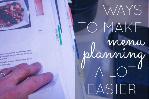 Ways to make menu planning a lot easier. | SimpleMom.net