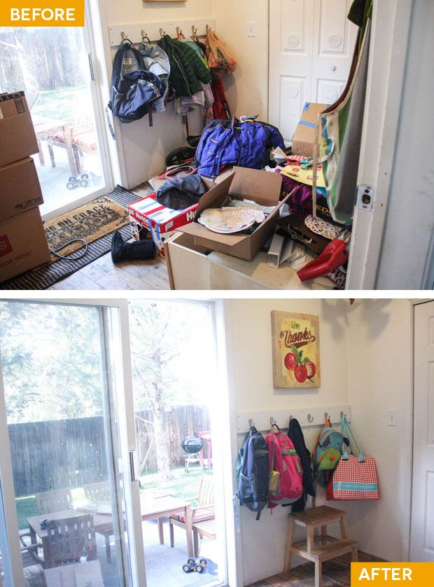Project Simplify, before & after: PILES