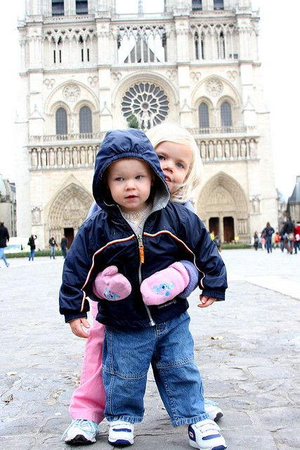 Our kids, in Paris back in 2009.