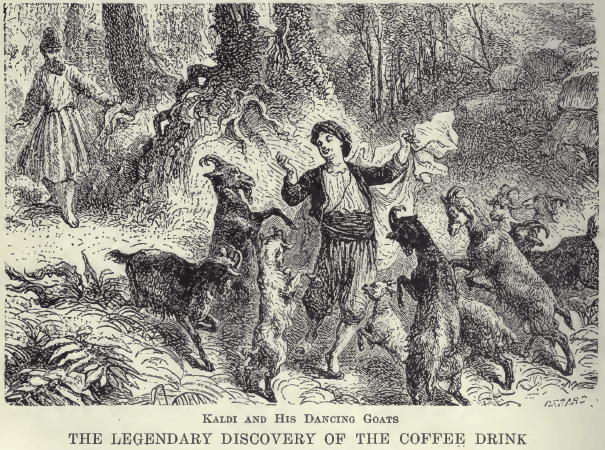kaldi the goatherder and the history of coffee