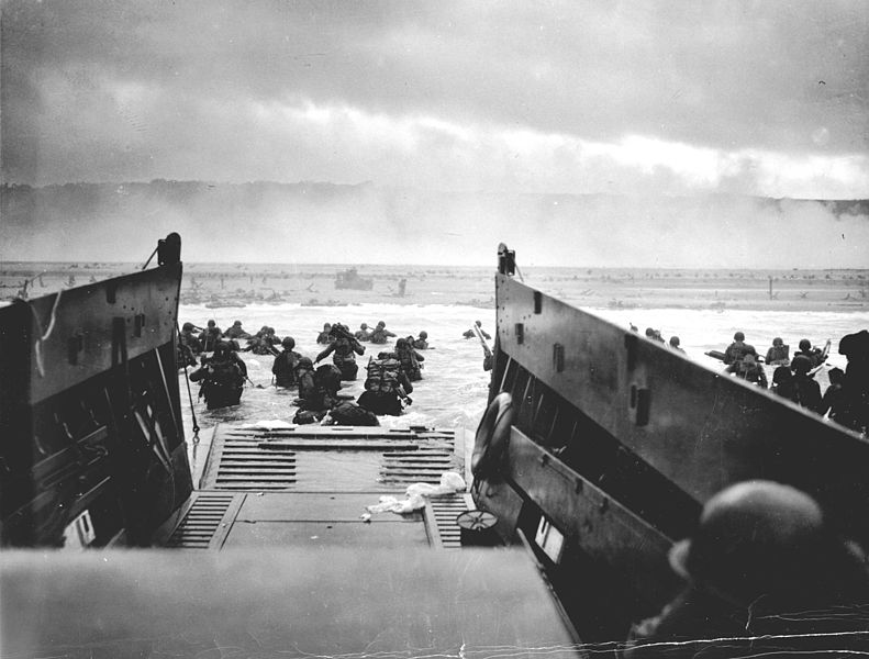 Landing of Normandy, World War II
