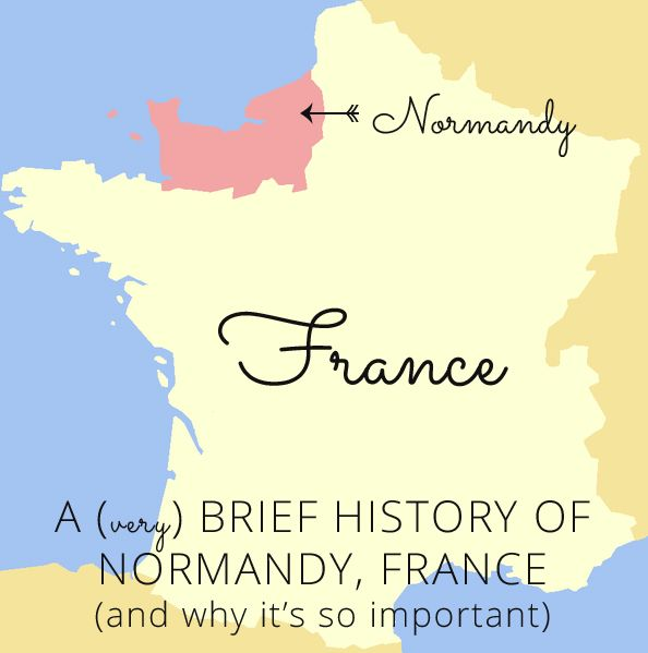 A very brief history of Normandy, France (and why it's so important)