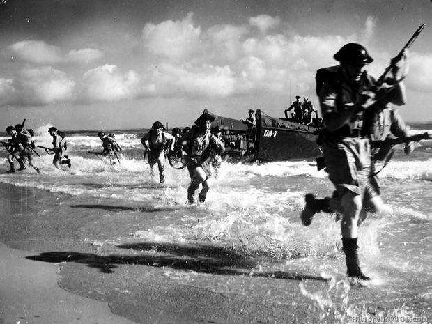 Allied troops of World War II