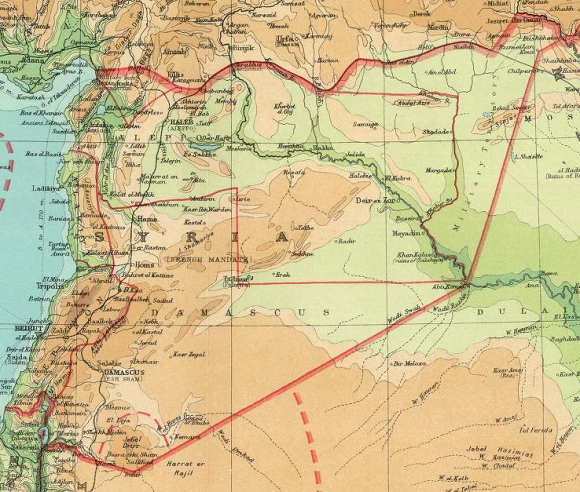 Syria 1922