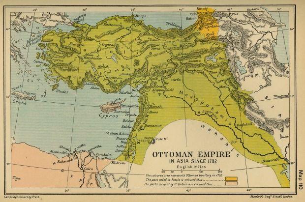 the ottoman empire in 1792