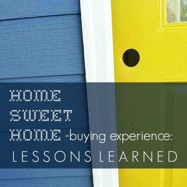 Positive lessons learned from first-time homeowners