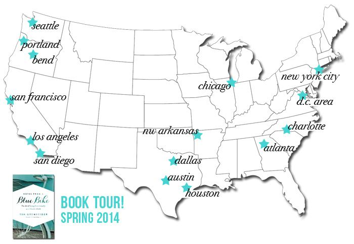 Book tour for Notes From a Blue Bike!