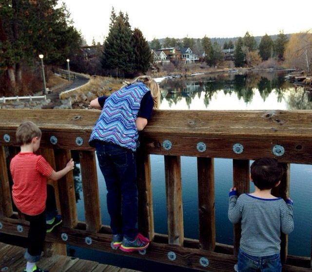 kids on the bridge