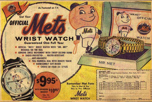 official mets watch