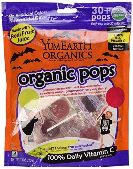 yum earth halloween lollipops