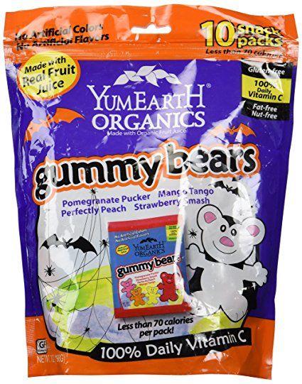 yum earth halloween gummy bears