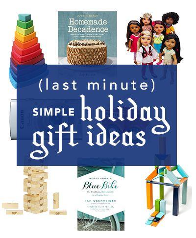 last minute simple holiday gift ideas