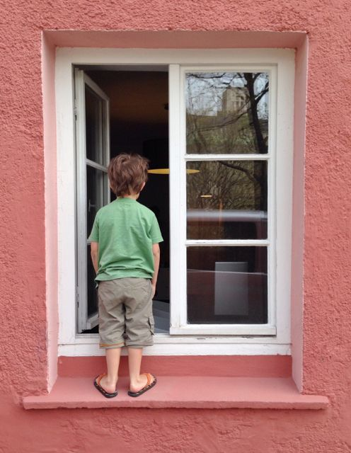 looking in the window in germany