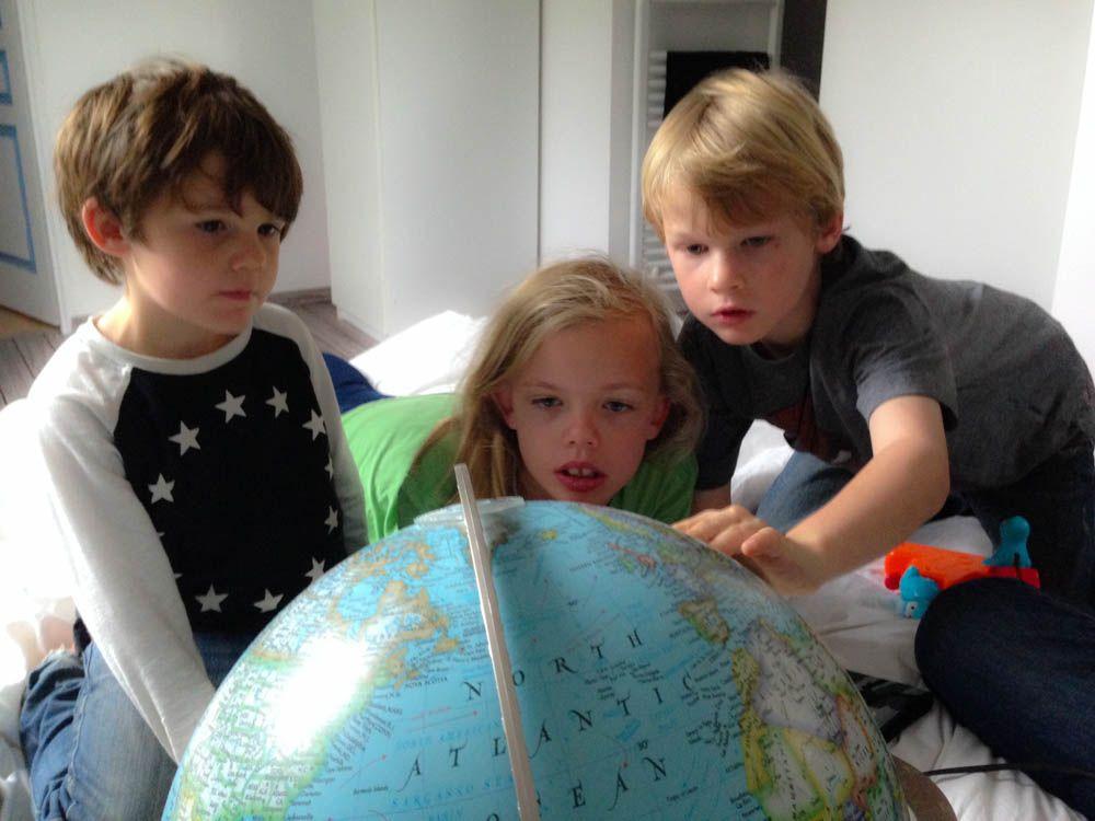kids and the globe