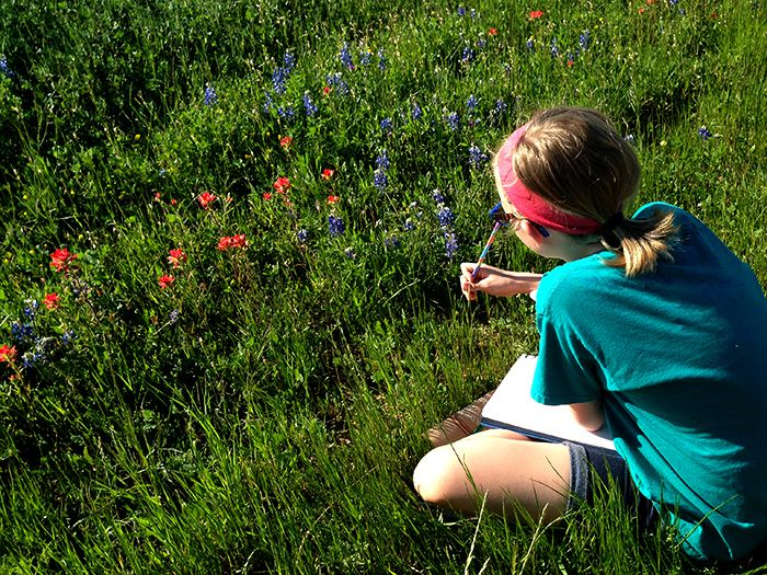 When roadside wildflowers are essential to your soul.