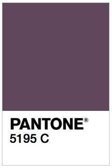 The color eggplant: supposedly looks good on everyone!