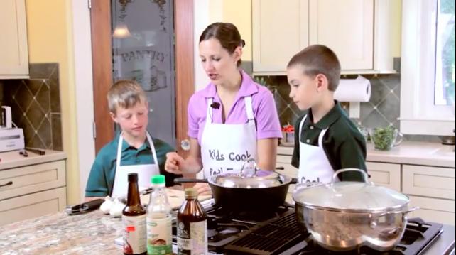 Kids Cook Real Food with Katie Kimball