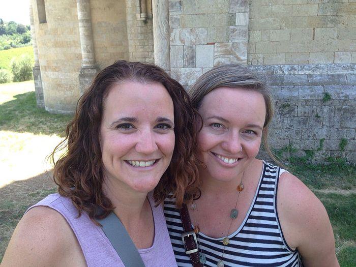 Caroline TeSelle and Tsh Oxenreider