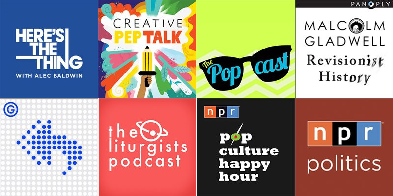 8 Great Podcasts