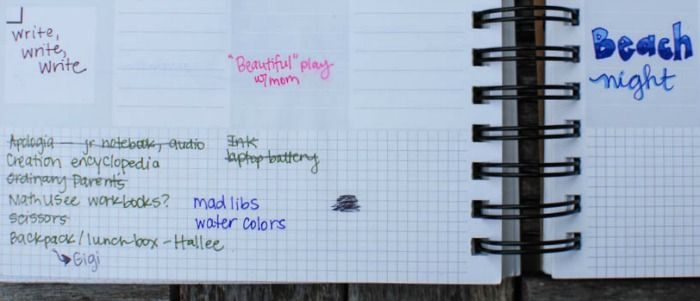 Combining a planner and bullet journal