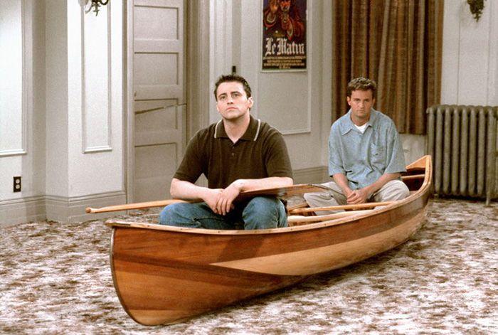 friends canoe