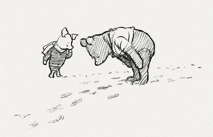 pooh piglet