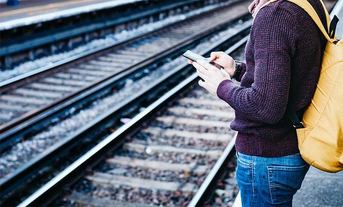 train travel phone app