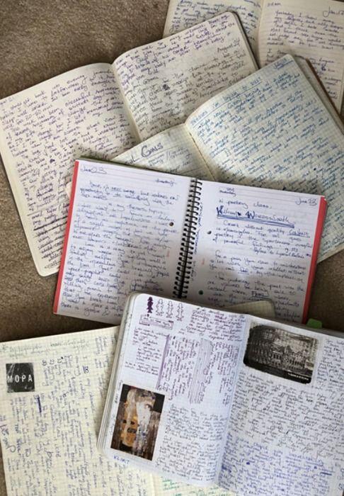25 years of journaling